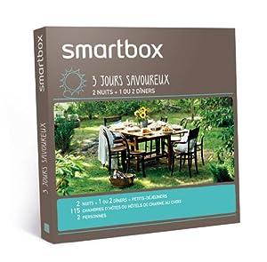 SMARTBOX - Coffret Cadeau - 3 jours savoureux