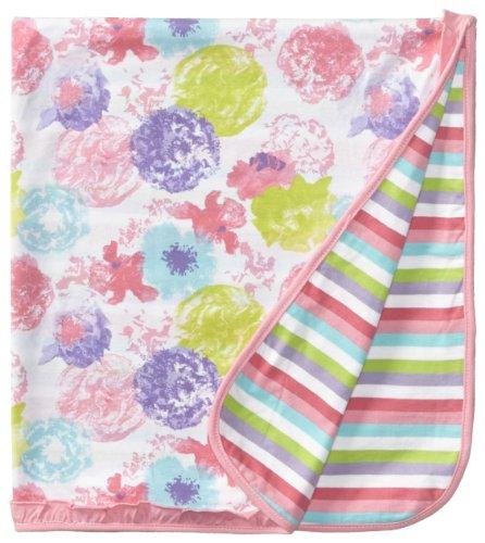 Absorba Baby-Girls Newborn Jarden Playette Blanket, Multi-Print, One Size front-787512