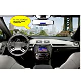 Docooler Bluetooth 3.0 Handsfree Car USB MP3 Player FM Transmitter Rearview Mirror with Wireless Headset Equipped With USB Interface SD/MMC Card Slot