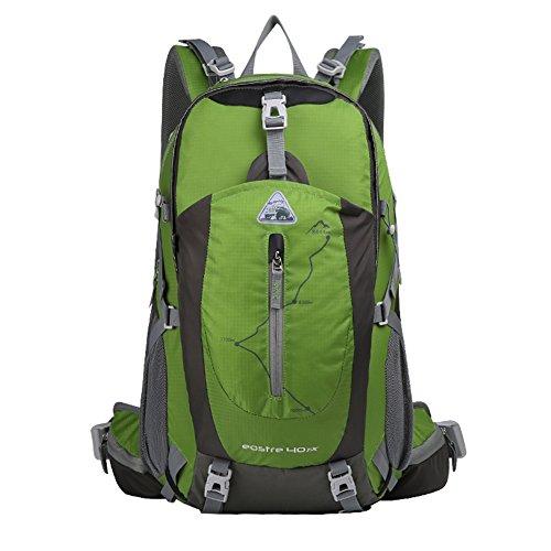 Alpinisme sac / sac à bandoulière / grande capacité imperméable randonnée en plein air sac de sport sac à dos / loisirs / Voyage à dos de camping-vert 40L