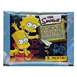the Simpsons(シンプソンズ) スクールサバイバルガイドブック ステッカー 5枚入パック 5パックセット【アニメカード】