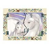 Unicorn Foldaway Mirror