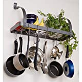Enclume MPB-06 RACK IT UP Bookshelf Pot Rack