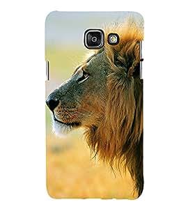 99Sublimation Lion at Side face 3D Hard Polycarbonate Designer Back Case Cover for Samsung Phones