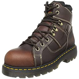 Dr. Martens Ironbridge Safety Toe Boot,Teak,12 UK/14 M US Women\'s/13 M US Men\'s