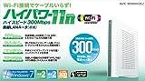 11n/g/b対応 高速300Mbps 無線LANルータ+USB