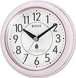 DAILY(リズム時計) 強化防滴・防塵( 小型クォーツ時計 アクアパークDN ピンク色 4KG711DN13