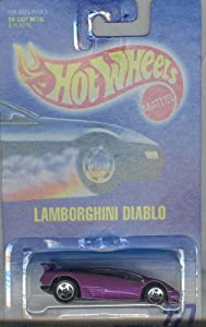Hot Wheels 1991-227 LAMBORGHINI DIABLO 5SP 1:64 Scale