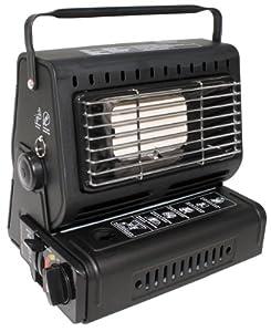Fox Outdoor Chaudière à gaz allumage piézo-électrique (Noir)