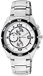 Citizen Analog White Dial Mens Watch AN3440-53A