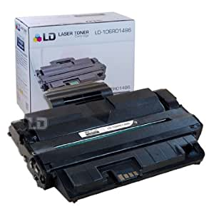 LD © Compatible Replacement for Xerox 106R01486 Black Laser Toner Cartridge for use in Xerox WorkCentre 3210, and 3220 Printers