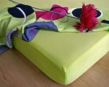 jersey drap housse 180x200 limon ne limon ne vert qualit excellente fabriqu en ue. Black Bedroom Furniture Sets. Home Design Ideas
