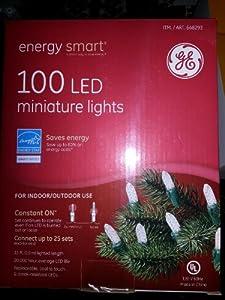 GE Energy Smart 100 LED Miniature Lights