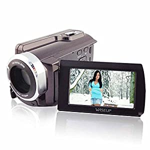 "Wiseup 3.0"" LCD Touch Screen 1080P Full HD DV Camera 16x Zoom Camcorder 270°Rotation"