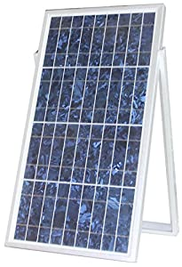 MicroSolar - 30w Solar Charger Kit // Plug & Play// Solar Charge Contoller Included - 18 Feet Wire - Optional 16.4 feet extension wire // Include Cigarette Plug with Fuse & Alligator Clips Wire from MicroSolar