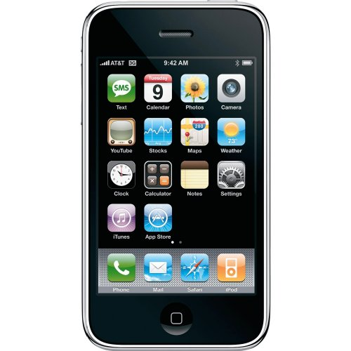 iPhone 3GS 32GB Sim Free Mobile Phone - Black