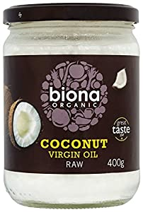 Biona Organic Coconut Oil 400 g (Pack of 2)