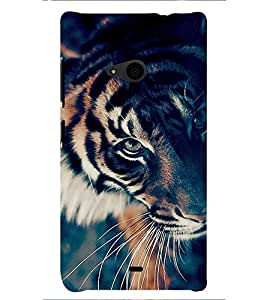 PRINTSHOPPII LION Back Case Cover for Nokia Lumia 535::Microsoft Lumia 535