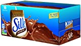 Silk Chocolate Soymilk Natural, 8-Ounce Aseptic Cartons (Pack of 18)