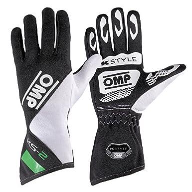 Omp - Gants Omp Ks-2 Noir/Vert L