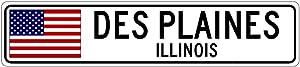 Des Plaines City Sign