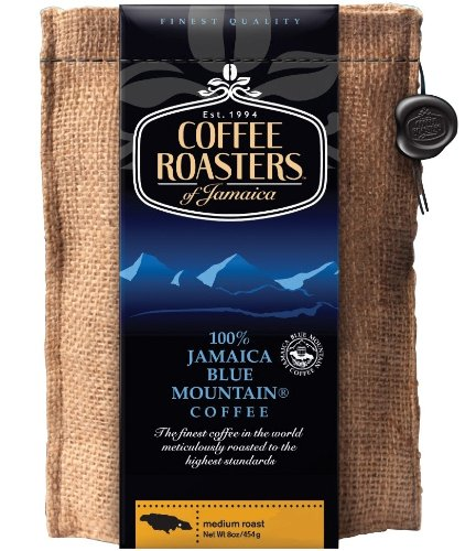Coffee Roasters Of Jamaica 100 Jamaica Blue Mountain Coffee 16oz Whole Beans Online Fog Chaser1