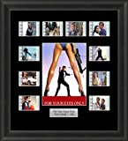 FOR YOUR EYES ONLY JAMES BOND FRAMED FILM CELLS