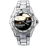 EPSP290 Guinness Beer Draught Stainless Steel Wrist Watch