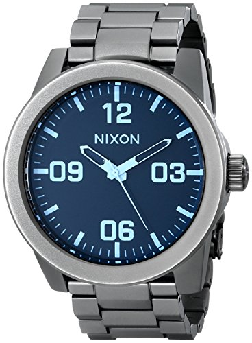 nixon s corporal sterling silver one size