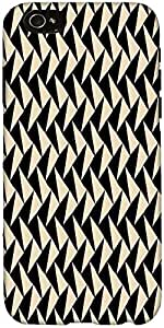 Snoogg Abstract Pattern Case Cover For Apple Iphone 6