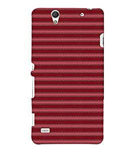 EPICCASE trendy beat Mobile Back Case Cover For Sony Xperia C4 (Designer Case)