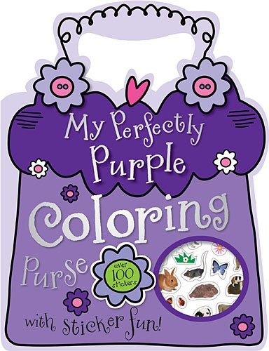 My Perfectly Purple Coloring Purse