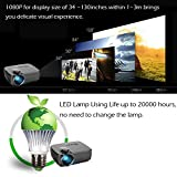 V2 LED LCD (WVGA) Mini Video Projector - International Version (No Warranty) - DIY Series - Black (FP8048V2-IV6)