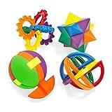Plastic Puzzle Balls (1 dz)