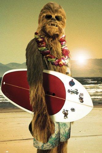 gb-eye-61-x-915-cm-star-wars-chewie-surf-maxi-poster
