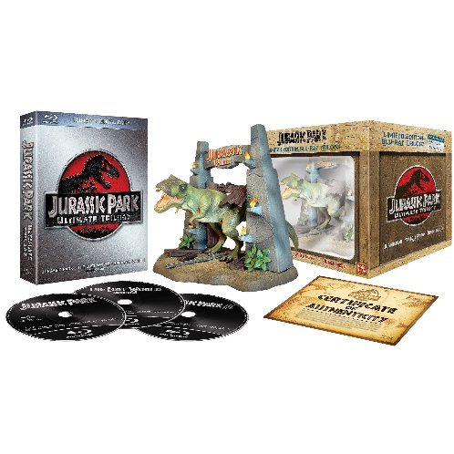 Jurassic Park - La trilogia (limited edition) (+action figure del T-Rex) [Blu-ray] [IT Import]