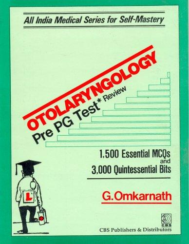 Otolaryngology Pre-PG Test Review (ENT): 0