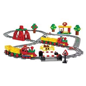 LEGO DUPLO Schiebezug Set 9212 - 129 Elemente für Kinder ab 2 Jahren!