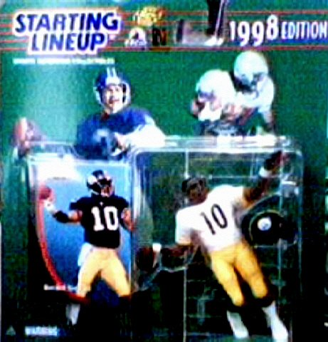 Kordell Stewart 1998 Starting Lineup NFL Action Figure - 1