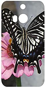 Butterfly Back Cover Case for HTC One M8