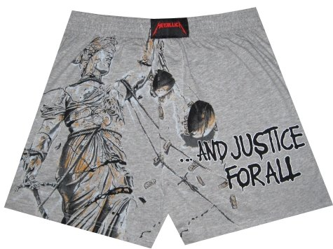 Buy Metallica Justice for All boxer shorts for men