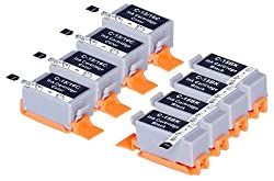 8 Pack Compatible Canon BCI-15 4 Black, 4 Tri Color for use with Canon Canon i70, i80. Ink Cartridges for inkjet printers. BCI-15-BK , BCI-15-C © Blake Printing Supply