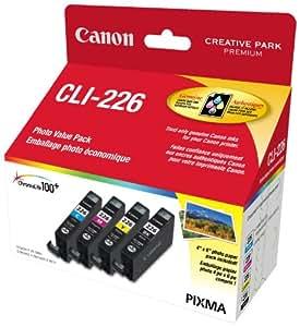 Canon Genuine CLI-226 4 Colour Value Pack