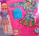 Barbie Jeans Week-End Fashions (Blue Top) - 1990 Arco Toys, Mattel