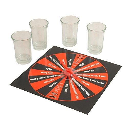 Solid Drinks - 42042 - Jeux De Société - Sip And Strip Drinking Game