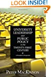 University Leadership and Public Poli...