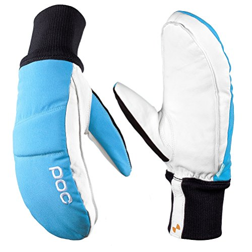 B00CKI18Z6 POC Nail Color Mittens Large Radon Blue