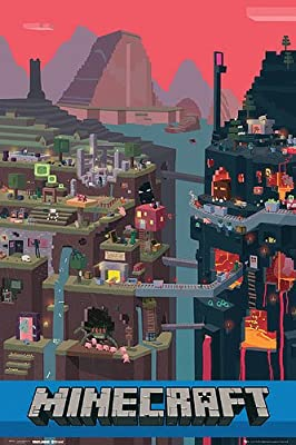 """Minecraft Poster World (24""""x36"""")"""
