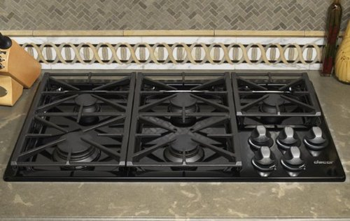 Dacor Preference Series 30 inch Black Gas Cooktop - RGC304BLP