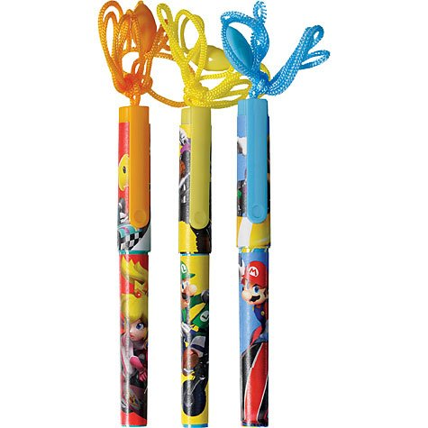 Party Destination 208771 Mario Kart Wii Rope Pens